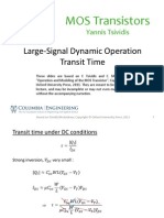 Lecture_Slides-Large Signal Dynamic Operation - Transit Time