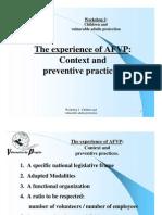 EURO 2008 AFVP Context Preventative Practices