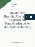 Auswärtiges Amt - Weissbuch Nr. 8 - Dokumente über die Alleinschuld Englands am Bombenkrieg (1943)
