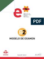 Modelo Examen b2
