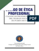 Codigo de Etica Profesional del Trabajador Social en Puerto Rico