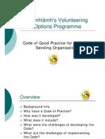 EURO 2008 Comhlamh Volunteering Options