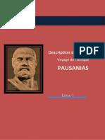 Pausanias-Description de la Grèce- L'Attique- http://www.projethomere.com