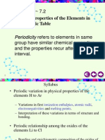 Periodicity 1