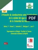 utilización De Cianobacterias Como Bioindicadores De La Calidad