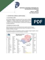 Geotecnia, Desastres e Proteção no Município de Petrópolis