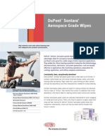 DuPont Sontara Wipes Technical Specs