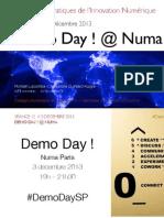 Séance 12 // Restitution des projets de startups au Numa