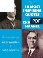 The 10 Most Inspiring Quotes of Charles F Haanel