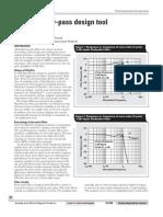 TI - FilterPro Low-pass Design Tool