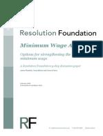 Minimum Wage ACT II