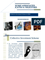 Collective Investment Scheme & SEBI