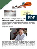 Empresário e ex-prefeito de cidade do Sertão da Paraíba morre em São Paulo