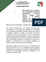 20-02-14 Intervención MARCELA GUERRA - Cumbre de Lideres AN