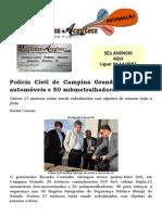 Polícia Civil de Campina Grande recebe 32 automóveis e 50 submetralhadoras