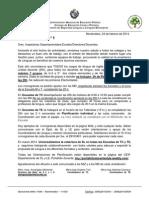 comunicado 1 2014