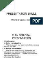 m. Sesic - Presentation Skills