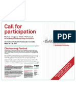 ElectroSmog Design Competition Call