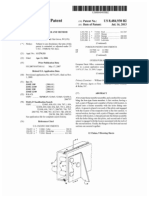 Boxed frame member and method for manufacture (US patent 8484930)