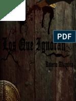 Los Que Ignoran (adelanto de cuatro capítulos) - Roberto Alhambra