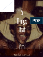 5 Things That I Am