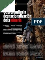Denacionalizacion de Mineria