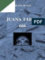 112030895 Hugo Wast Juana Tabor 666