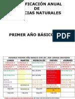 planificacionanualcienciasnaturalesprimerao2013-130105173447-phpapp01