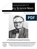 Fire Safety Science News #36 - February, 2014