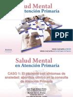 CASO 1 El Paciente Con Sintomas de Ansiedad