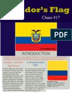 ecuadorian flag - chase