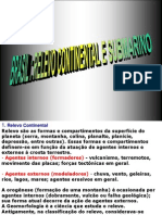 Relevo Continental Submarino Brasil