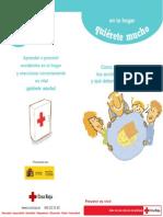 Folleto Accidentes Hogar. Cruz Roja