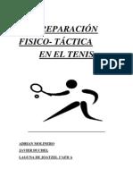 Sesión preparación físico-táctica para el tenis