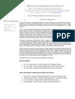 WIEF 2008 Press Release