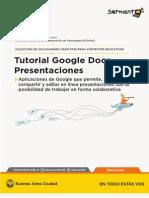 Tutorial Google Presentaciones