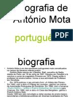 Biografia de António Mota