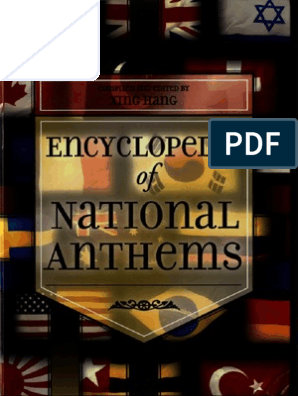 Encyclopedia Of National Anthems Book