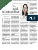 """""""No se aprovecha la vigilancia tecnológica"""" - Juana Kuramoto - El Comercio - 210214"""