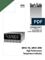 Omega DP-41 User's Guide