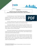 Texto 01 - Método Atual de Planejamento em igrejas_Pr Theobaldo