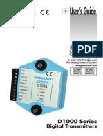 Omega D1000 Series Digital Transmitters