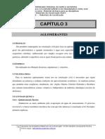 Capítulo 3 e 4 Aglomerantes  Argamassas