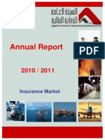 Annual Statistical Report of Egyptian Insurance Market 2010_2011