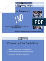 IVCO 2006 UNV Private Sector Engagement