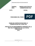 Bases Rutas Principales 2012