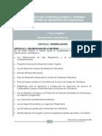 REGLAMENTO DE CONSTRUCCIONES Y NORMAS TÉCNICAS PARA EL MUNICIPIO DE CHIHUAHUA (2009)