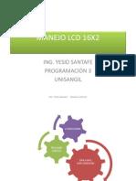 Manejo Lcd 16x2