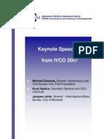 IVCO 2007 Speeches En