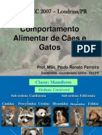 Comportamento Alimentar de C Es e Gatos Zootec 2007 262872108